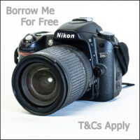 Borrow a DSLR for Free