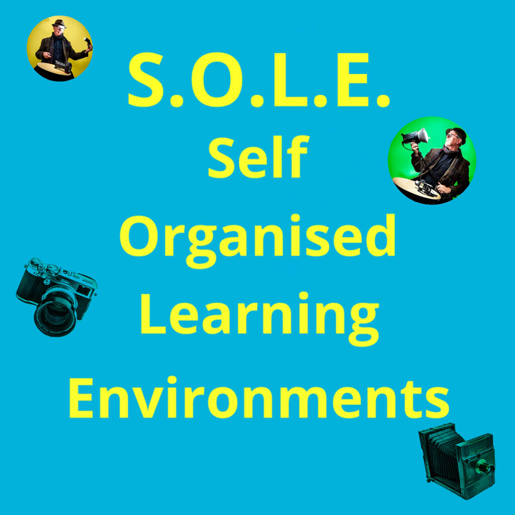 Learn Photography with Self Organised Learning Environments